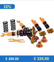 For High Performance Nissan Infiniti Z33 G35 350Z Roadster Adj Height & Camber Coilovers