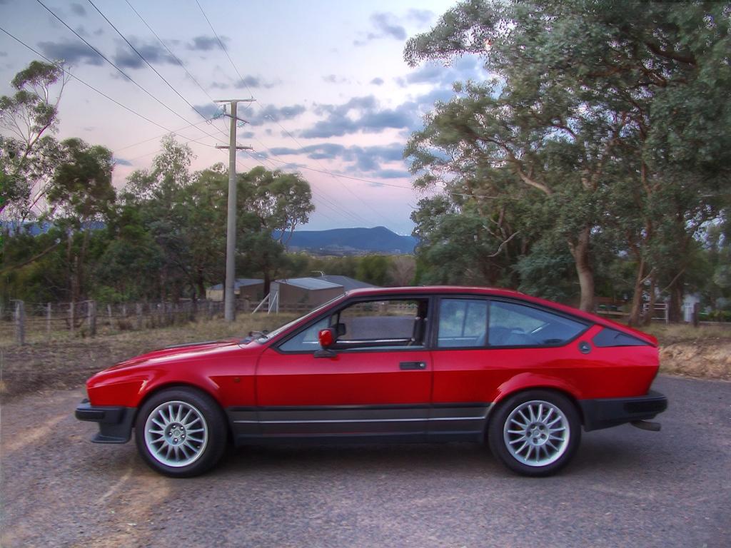 For Alfa Romeo GTV6