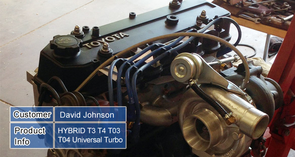 HYBRID T3 T4 T03 T04 Universal Turbo