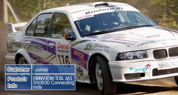 BMW E36 3.0L M3 S50B30 Conrods